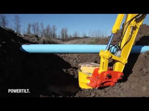 PowerTilt Underground Utilities