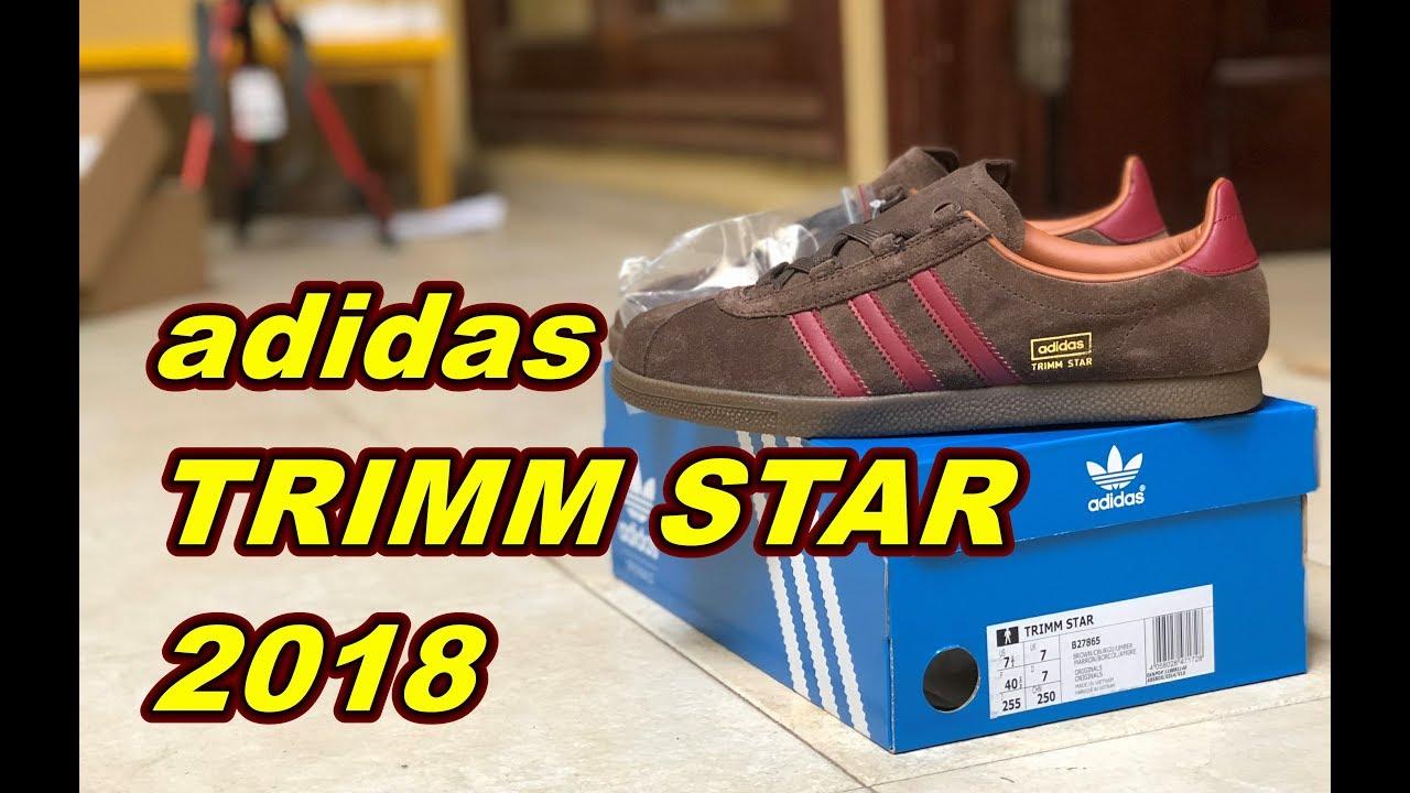 adidas trimm star (2018) unboxing ek18vlog86 su youtube