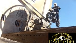 Ducati Scrambler Urban Enduro 2016 on Bomber Magazine´s test ride