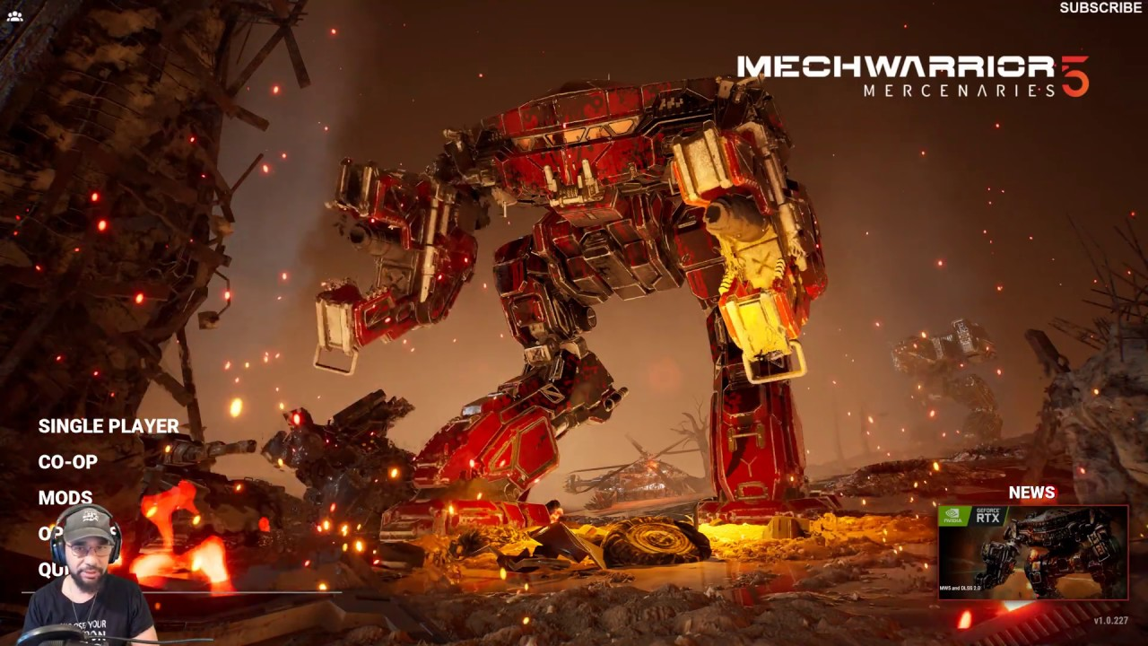 MechWarrior 5 DLSS 2.0 Explanation Gameplay 4k max Settings with DLSS