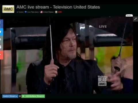 NORMAN REEDUS S07E01 DARYL DIXON TALKING DEAD THE WALKING DEAD