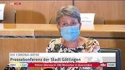 Corona LIVE: Pressekonferenz zum Ausbruch in Göttingen