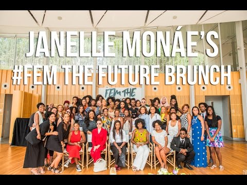Join Janelle Monáe as she announces her #FemTheFuture Movement powered by Toyota