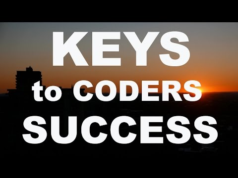 The keys to a coder's success?