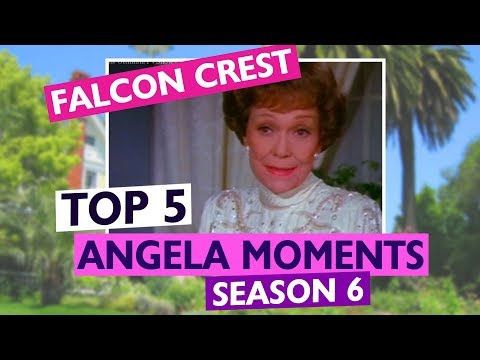 FALCON CREST: TOP 5 Angela Moments From Season 6