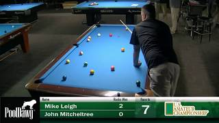 2018 US Amateur Championship - Round 17 - Mike Leigh vs John Mitcheltree