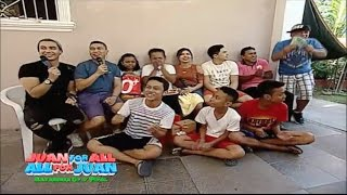 Juan For All, All For Juan Sugod Bahay | November 9, 2016