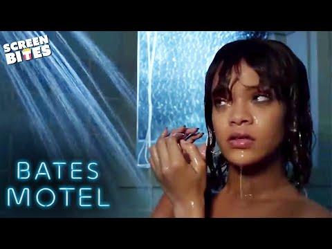 Rihanna's 'Bates Motel' Shower Scene   Bates Motel   SceneScreen