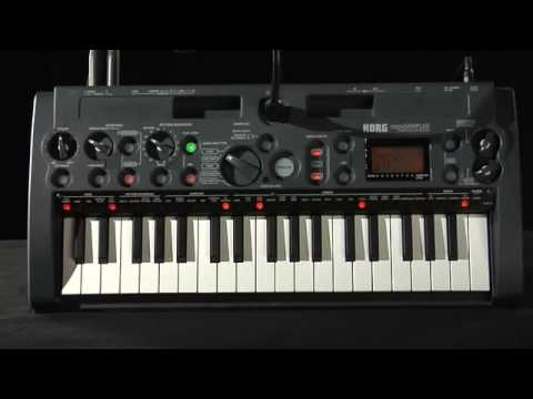 Korg microSAMPLER Official Product Introduction