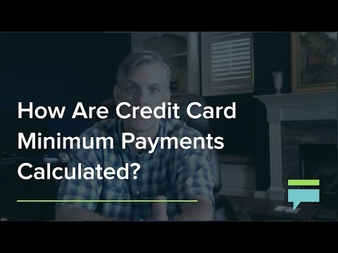 How Are Credit Card Minimum Payments Calculated Credit Card Insider
