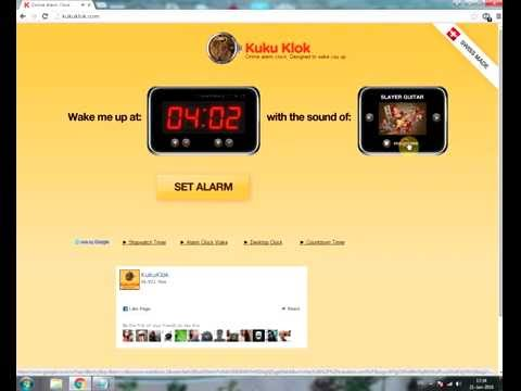 online alarm  kukuklok  works at offline also