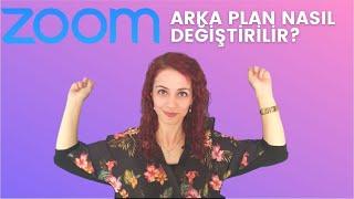 1 Dakikada Zoom Arka Plan Nasıl Değiştirilir ? Zoom Arka Plan Yapma