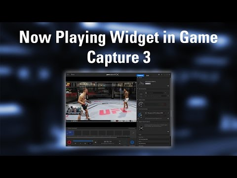 How to add a 'Now Playing' widget in Game Capture 3