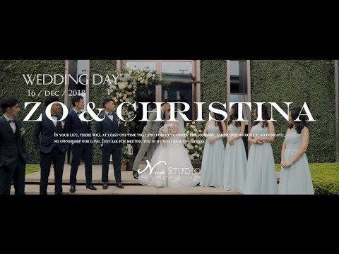 [婚禮錄影] 台北萬豪酒店 Zo&Christina 結婚/證婚/宴客