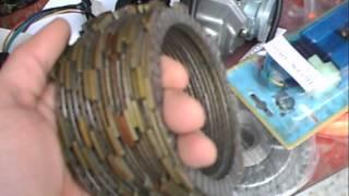 Box of China ATV parts