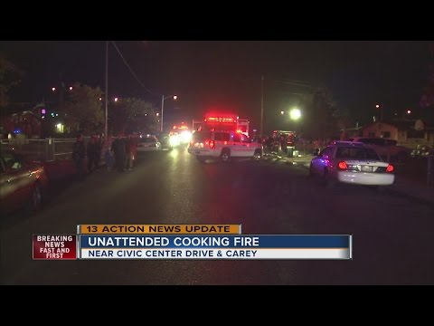 Unattended Cooking Cause Of North Las Vegas Fire That Killed 3