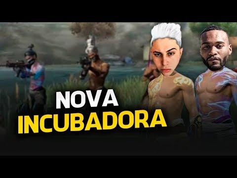 🔥 FREE FIRE - AO VIVO 🔥  NOVA INCUBADORA,  TOP 3 GLOBAL 🔥 FT IGORILA #270K 🔥 LIVE ON
