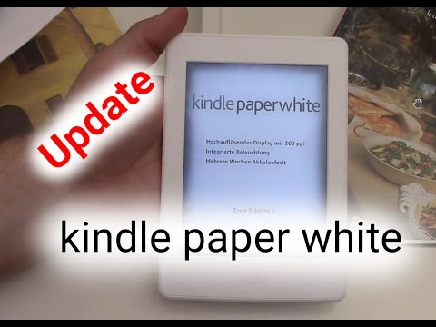 kindle paperwhite update youtube