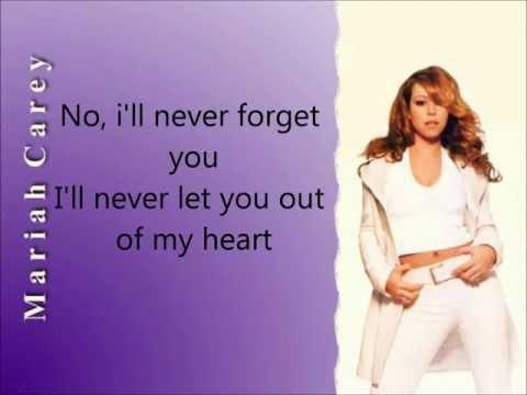 Mariah Carey - Never Forget You (Lyrics)