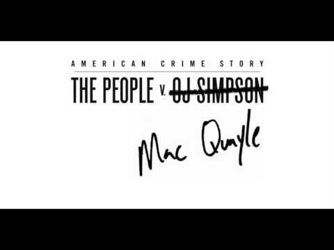 "Mac Quayle - ACS: The People v. O.J Simpson ""Plea Hearing"""