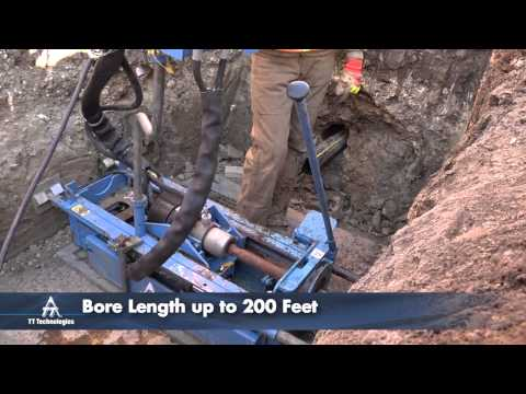 Grundopit® Horizontal Directional Drilling System: Pit Launched Mini-Directional Drill