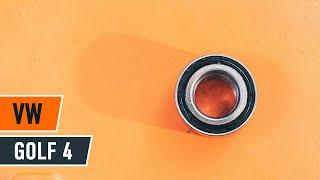 Cum se inlocuiesc rulmentul butucului roții din față pe VW GOLF 4 TUTORIAL | AUTODOC