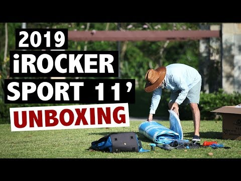 iROCKER SPORT 11' Inflatable SUP Unboxing (2019 Board)