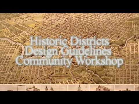 Historic District Design Guidelines - Strategy Paper Presentation