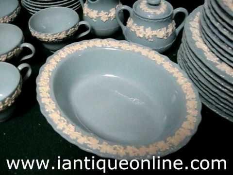 Vintage China Wedgwood Queens Ware & Vintage China Wedgwood Queens Ware - YouTube