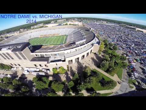 University of Notre Dame (Drone Video 2015)