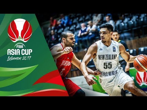 HIGHLIGHTS: New Zealand vs. Jordan (VIDEO) FIBA Asia Cup 2017 Quarterfinal