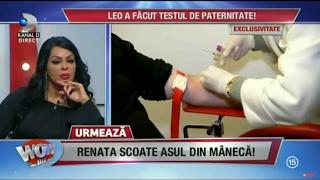 WOWBIZ (14.02.2017) - Leo de la Strehaia a facut testul de paternitate