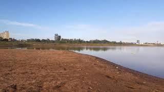 Santa Fe: histórica bajante del río Paraná y una caminata por el corazón de la Laguna Setúbal