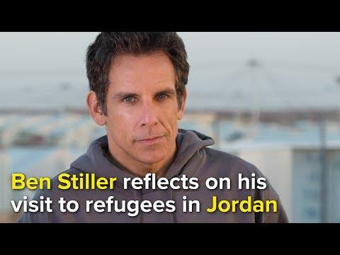 UNHCR Supporter Ben Stiller visits Syrian refugees in Jordan
