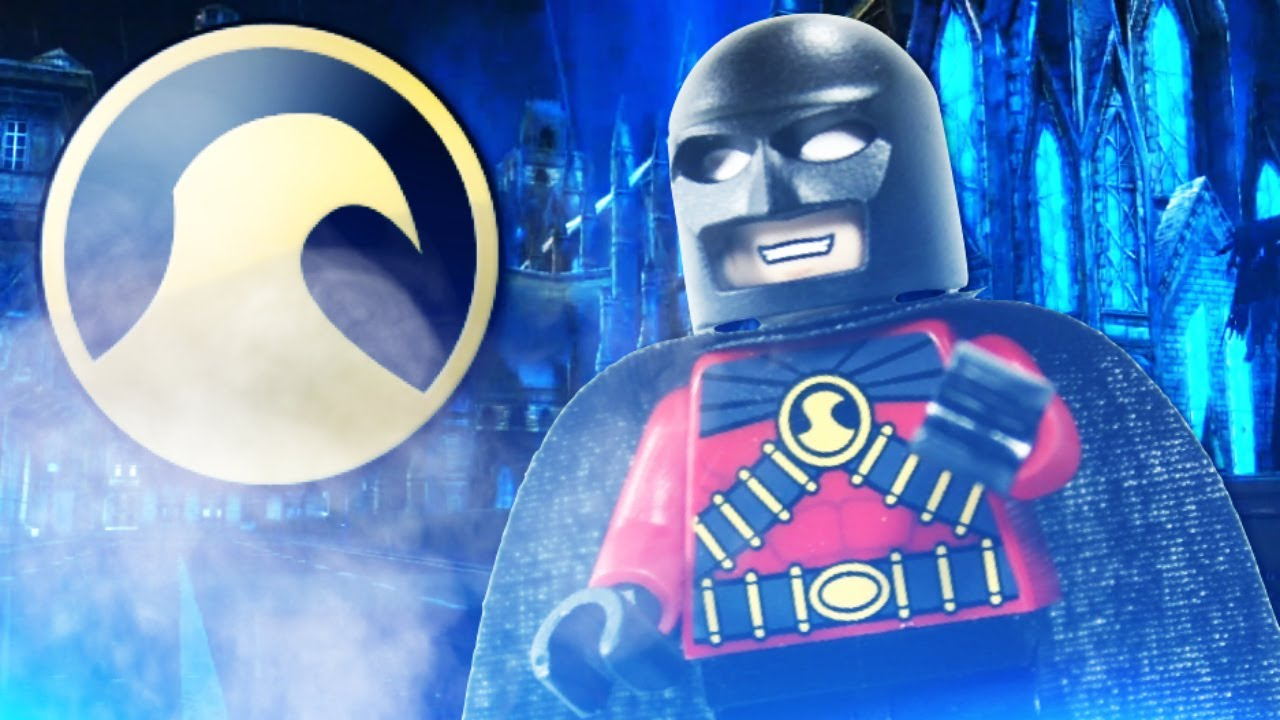 Lego Batman 2 Dc Super Heroes Justice League Custom Red Robin Review Youtube