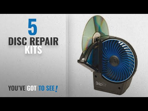 Top 10 Disc Repair Kits [2018]: SkipDr/SkipDRx DVD and CD Disc Repair with Cleaning System