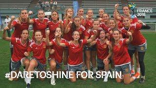 #DareToShine for Spain - FIFA U-20 Women