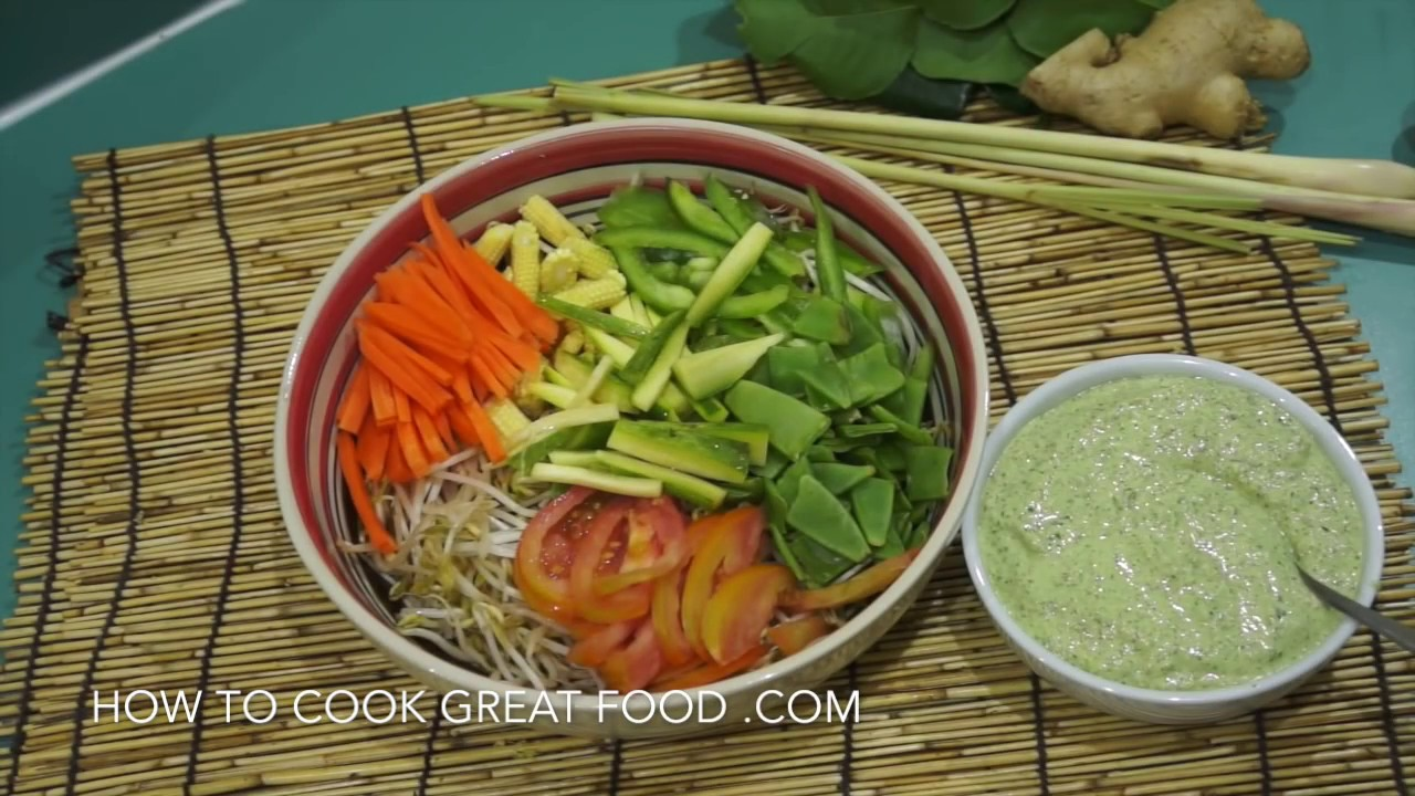 Raw diet recipe thai salad amazing dressing vegan easy healthy raw diet recipe thai salad amazing dressing vegan easy healthy youtube forumfinder Images