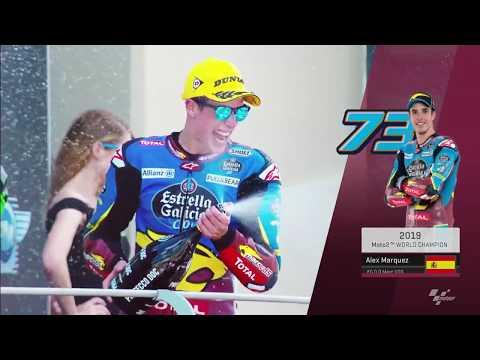 Alex Márquez is the 2019 Moto2™ World Champion! #AM73WorldChampion