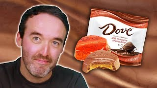 Irish People Try Dove American Chocolate