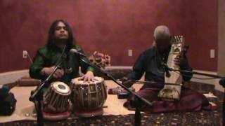 Tabla Solo By Hindole Majumdar with Sarangi Maestro  Pandit Ramesh Misra ji Live in Milwaukee USA