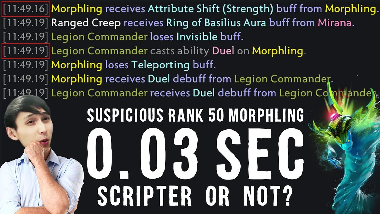 SUSPICIOUS RANK 50 MORPHLING | SCRIPTER OR NOT? (SingSing Dota 2 Highlights #1463) thumbnail