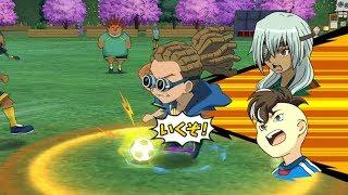 inazuma eleven strikers 2013! Raimon vs Little Giants Wii Gameplay 1080p (Dolphin PC/Wii Emulator)