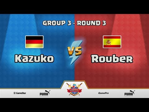 ESWC Gamescom 2017 Clash Royale - Group 3 - Round 3 - Kazuko vs Rouber