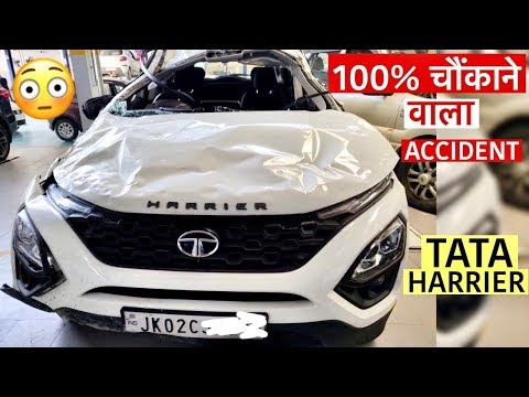 OMG! HARRIER Accident Proves Build Quality of TATA   Must Watch