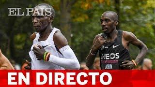 DIRECTO: El maratón de KIPCHOGE en VIENA