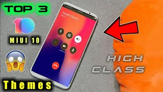Top 3 New Miui 10 themes || All Xiaomi Phones || Perfect Theme In MIUI 10