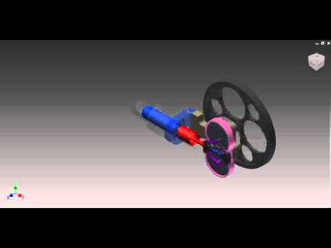 Rhombic Stirling Engine