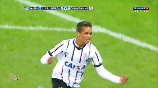 Gols Corinthians 2 x 1 Cruzeiro - Copa São Paulo Jr. 2016 60 fps