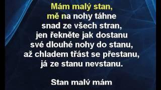 Mám malý stan - Waldemar Matuška, Karel Štědrý Karaoke tip